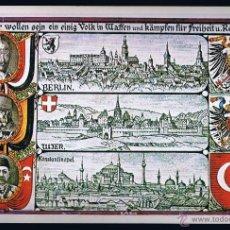 Cartoline: POSTAL ANTIGUA HISTORIA GRÁFICA DEL SIGLO XX. IMPR. MATEU CROMO - . Lote 44855027