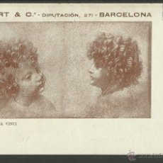 Postales: POSTAL PUBLICITARIA - RENART & CIA - RENVERSO SIN DIVIDIR - BARCELONA - (24065). Lote 44985917