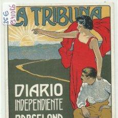 Postales: (PS-41086)POSTAL PUBLICITARIA DIARIO INDEPENDIENTE LA TRIBUNA(BARCELONA). Lote 45032131