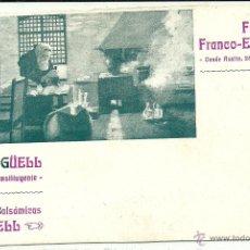 Postales: (PS-41115)POSTAL PUBLICITARIA FARMACIA FRANCO-ESPAÑOLA(BARCELONA). Lote 45063908