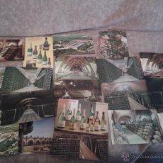 Postales: 24 POSTALES PUBLICITARIAS DE CAVAS CODORNIU. SURTIDO VARIADO. Lote 45146701