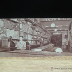 Postales - tarjeta antigua de tienda de repuestos de bicicleta - f. mesas - 45413480