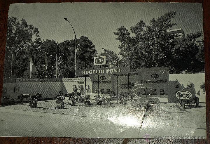 Postales: TARJETA POSTAL ROGELIO PONT. VALENCIA. MAQUINARIA. FERIA MUESTRAS LA ALAMEDA. 1969. VER FOTOS Y MAS. - Foto 2 - 45524490