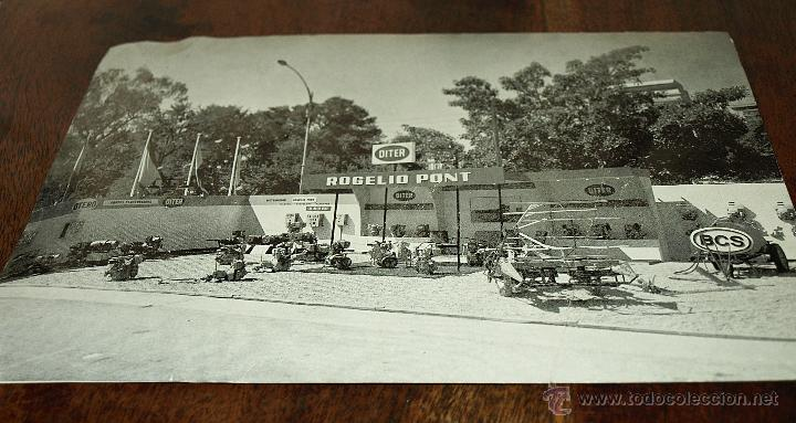 Postales: TARJETA POSTAL ROGELIO PONT. VALENCIA. MAQUINARIA. FERIA MUESTRAS LA ALAMEDA. 1969. VER FOTOS Y MAS. - Foto 3 - 45524490
