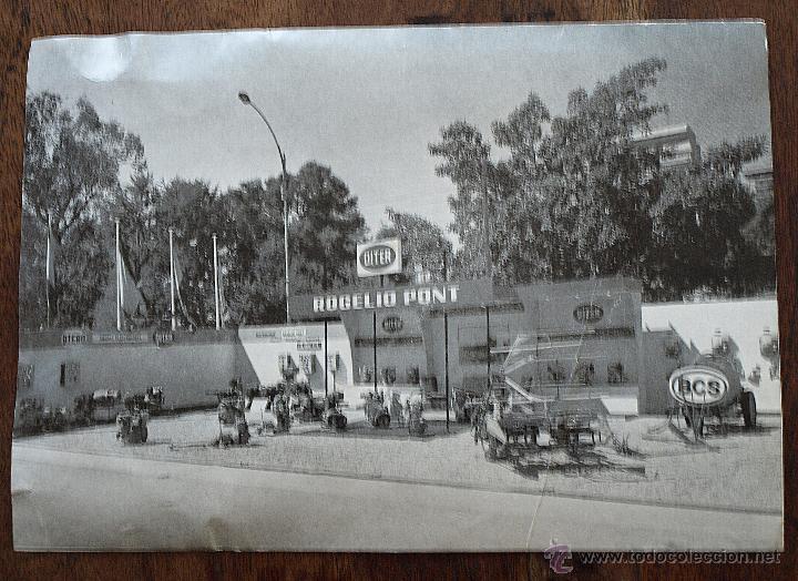 Postales: TARJETA POSTAL ROGELIO PONT. VALENCIA. MAQUINARIA. FERIA MUESTRAS LA ALAMEDA. 1969. VER FOTOS Y MAS. - Foto 7 - 45524490