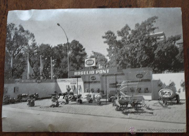 Postales: TARJETA POSTAL ROGELIO PONT. VALENCIA. MAQUINARIA. FERIA MUESTRAS LA ALAMEDA. 1969. VER FOTOS Y MAS. - Foto 11 - 45524490