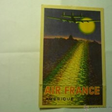 Postales: POSTAL ANTIGUA AIR FRANCE .-BB. Lote 45562333