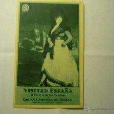 Postales: POSTAL ANTIGUA EDITA COMPAÑIA ESPAÑOLA TURISMO VISITAD ESPAÑA. Lote 45563265