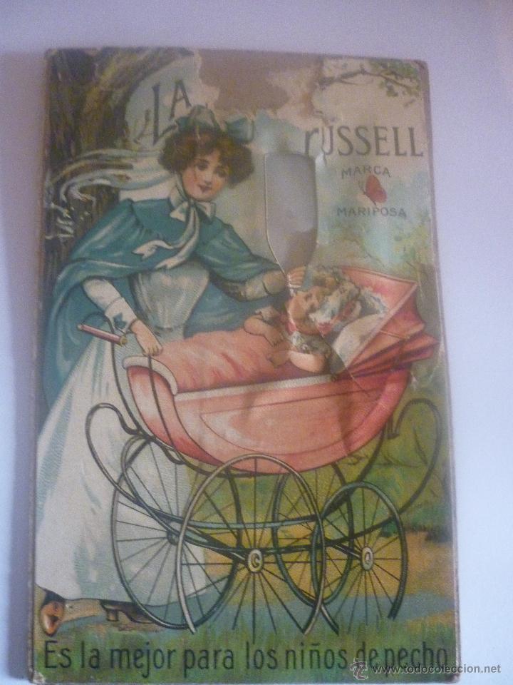 Postales: AÑOS 20 LA LECHE FUSSELL. CON SELLO DE TINTA DEL DISTRIBUIDOR EN LAS PALMAS: KUHNER HENDERSON Y Cia - Foto 2 - 45613558