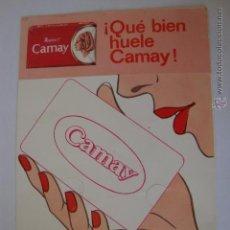 Postales: POSTAL ORIGINAL PUBLICIDAD JABON JABONES CAMAY. Lote 45739139