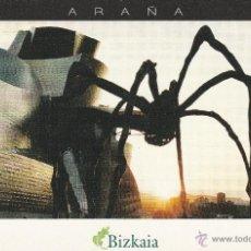 Postales: Nº 12305 POSTAL PUBLICIDAD BILBAO BIZKAIA ARAÑA. Lote 45764487