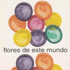 Postales: Nº 12310 POSTAL PUBLICIDAD FUNDACION DEL MOVIMIENTO ANTI SIDA. Lote 45764530