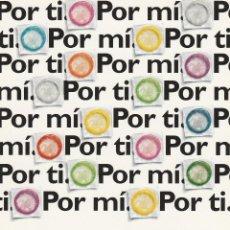 Postales: Nº 12321 POSTAL PUBLICIDAD PLAN NACIONAL SOBRE EL SIDA MINISTERIO SANIDAD Y CONSUMO. Lote 45764654