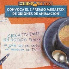 Postales: Nº 12374 POSTAL PUBLICIDAD MEGATRIX. Lote 45764718