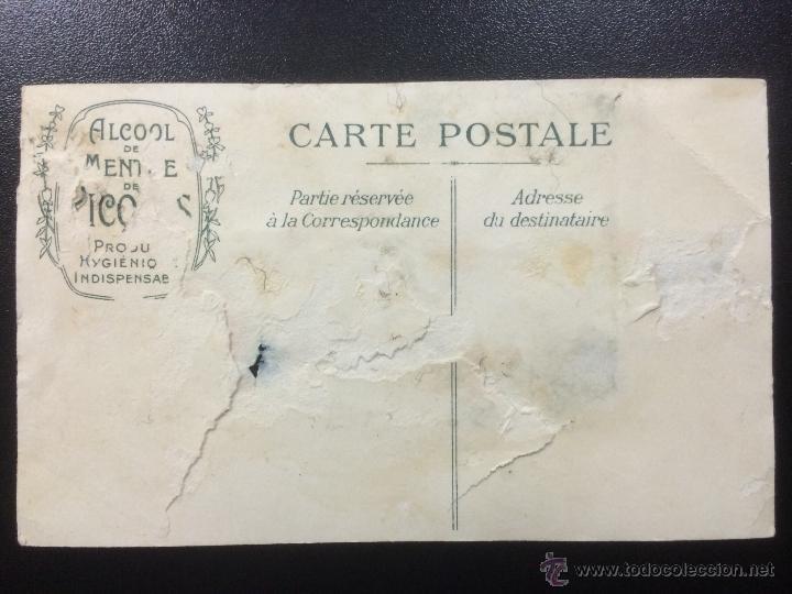 Postales: ANTIGUA POSTAL FRANCESA DE ALCOOL DE MENTHE RICQLES. - Foto 2 - 45810697