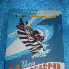 Postales: POSTAL DE LA PELICULA MADAGASCAR. Lote 46018034