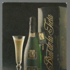 Postales: POSTAL CAVA GRAN BLANCHER *BRUT DE LA TIETA* - SANT SADURNI D'ANOIA 1988. Lote 46027764