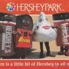 Postcards - Nº 15990 POSTAL PUBLICIDAD CHOCOLATE HERSHEYPARK PENNSYLVANIA USA - 46096374