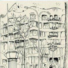 Postales: PUBLICIDAD-BARCELONA -LA PEDRERA-. Lote 46462024