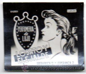 POSTALITA PUBLICITARIA,LOBATO Y ELEJALDE,AÑOS 60,LUZ FIJA DE LOS CINES (Postales - Postales Temáticas - Publicitarias)