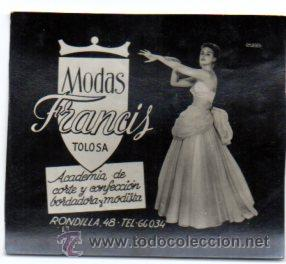 POSTALITA PUBLICITARIA,AÑOS 60,ORIGINAL,BUEN ESTADO,MUY RARA,LUZ FIJA DE LOS CINES,TOLOSA,GUIPÚZCOA (Postales - Postales Temáticas - Publicitarias)