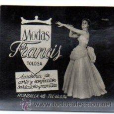 Postales: POSTALITA PUBLICITARIA,AÑOS 60,ORIGINAL,BUEN ESTADO,MUY RARA,LUZ FIJA DE LOS CINES,TOLOSA,GUIPÚZCOA. Lote 132465403