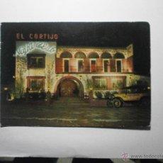 Postales: TARJETA POSTAL PUBLICIDAD EL CORTIJO NIGHT CLUB LLORET DE MAR COSTA BRAVA . Lote 46737788