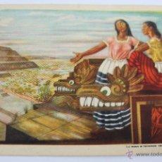 Postales: PR21. TRAJETA POSTAL PUBLICITARIA BAR AZTECA CENTRO TIPICO Y ARTISTICO. Lote 47056808