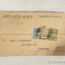 Postales: TARJETA POSTAL PUBLICITARIA JO Y CIA AÑO 1930 .... Lote 47261608