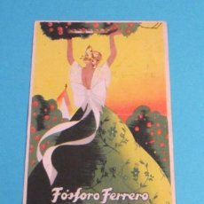 Postales: TARJETA POSTAL CIRCULADA FÓSFORO FERRERO. SERIE 2ª Nº 3. LEVANTE. Lote 47518734