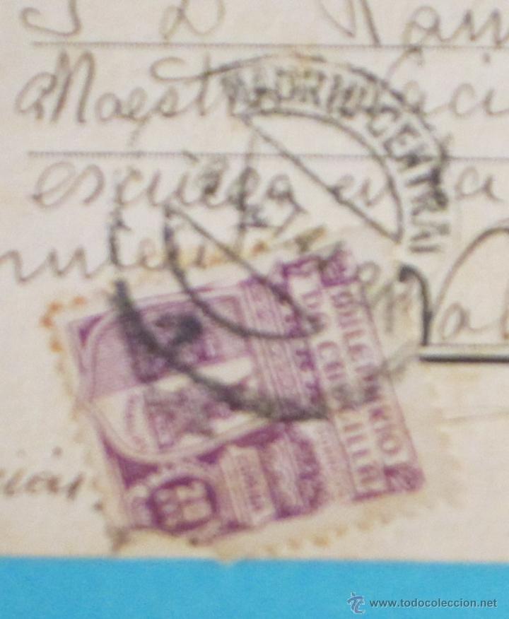 Postales: TARJETA POSTAL CIRCULADA FÓSFORO FERRERO. SERIE 2ª Nº 3. LEVANTE - Foto 3 - 47518734