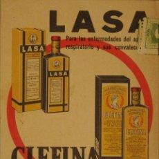 Postales: GLEFINA LASA - ILUSTRADA CIRCULADA Y DORSO DIVIDIDIDO. Lote 47558148