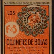 Postales: COJINETES DE BOLAS ROTORES S.A. - ILUSTRADA - SIN CIRCULAR Y DORSO DIVIDIDIDO. Lote 47559886