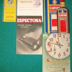 Postales: 4 TARJETAS POSTALES PUBLICITARIAS FARMACIA. L54. Lote 47869972