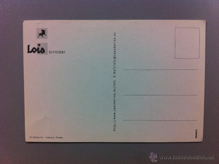 Postales: POSTAL PUBLICIDAD LOIS. MODA - Foto 2 - 48108317