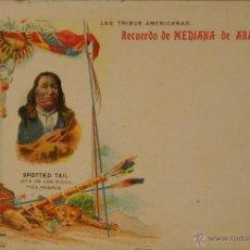 Postales: MEDIANA DE ARAGON - PUBLICIDAD FARMACEUTICA - ILUSTRADA SIN CIRCULAR Y DORSO SIN DIVIDIR. Lote 48266402