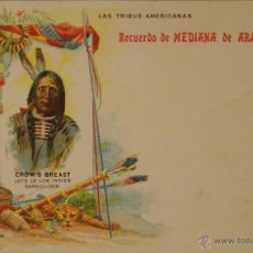 Postales: MEDIANA DE ARAGON - PUBLICIDAD FARMACEUTICA - ILUSTRADA SIN CIRCULAR Y DORSO SIN DIVIDIR. Lote 48266429
