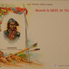 Postales: MEDIANA DE ARAGON - PUBLICIDAD FARMACEUTICA - ILUSTRADA SIN CIRCULAR Y DORSO SIN DIVIDIR. Lote 48266441