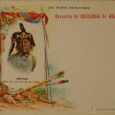 Postales: MEDIANA DE ARAGON - PUBLICIDAD FARMACEUTICA - ILUSTRADA SIN CIRCULAR Y DORSO SIN DIVIDIR. Lote 48266462