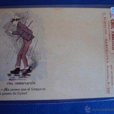 Postales: (PS-44912)POSTAL PUBLICITARIA PAPEL DE FUMAR,HIDALGUIA. Lote 48434237