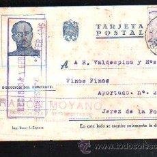 Postales: TARJETA POSTAL PUBLICITARIA. RAMON MOYANO. ZAMORA. 1945. Lote 48568593