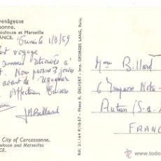 Postales: POSTAL PUBLICITARIA, AEROLINEAS, AIR FRANCE, POSTAL ANTIGUA, , CIRCULADA. Lote 48933293