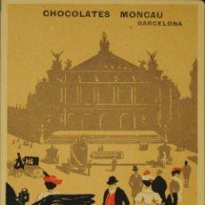 Postcards - CHOCOLATES MONCAU - ILUSTRADA - SIN CIRCULAR Y DORSO DIVIDIDIDO - 49290580
