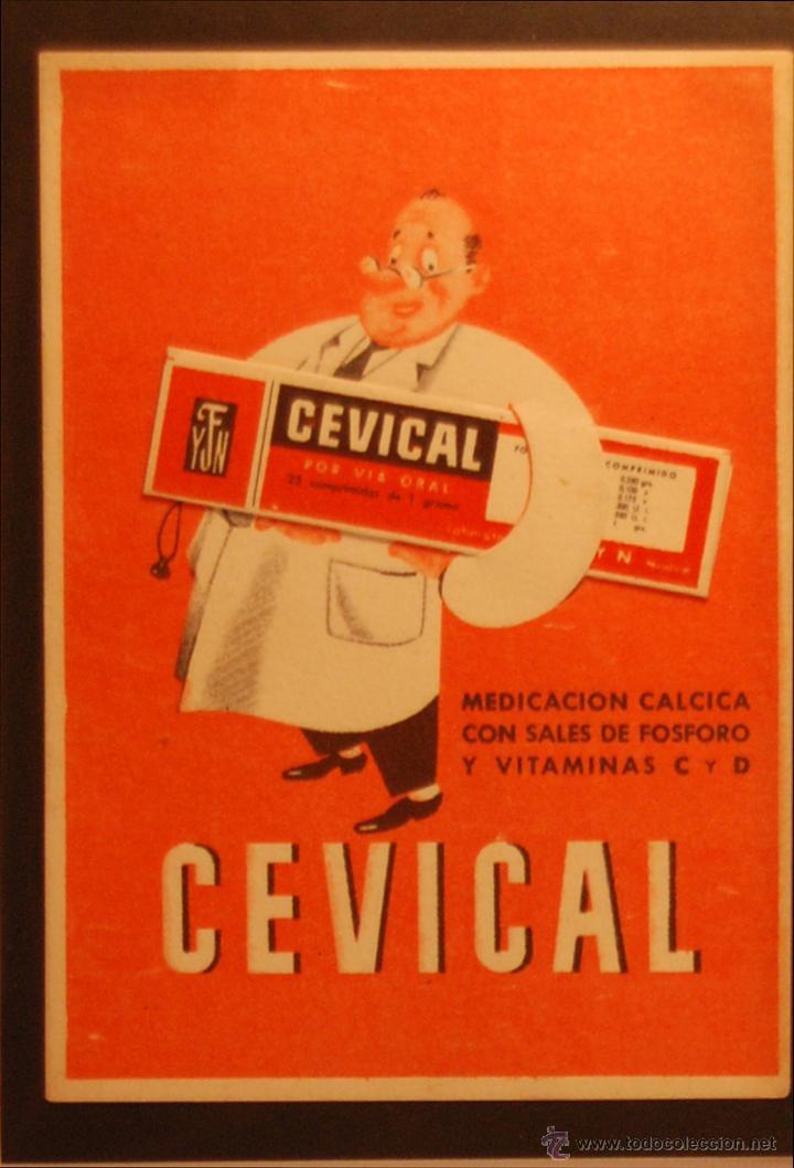 CEVICAL - ILUSTRADA SIN CIRCULAR Y DORSO DIVIDIDO (Postales - Postales Temáticas - Publicitarias)