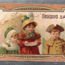 Cartes Postales: TARJERA INFANTIL PUBLICITARIA, OBSEQUIO DROGUERIA SARRA. . Lote 49444031