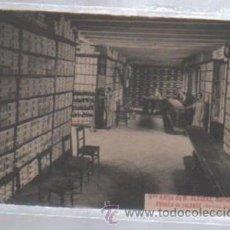 Postales: TARJETA POSTAL PUBLICITARIA. VIUDA E HIJO DE M.ALVAREZ. FABRICA DE CALZADO. SECCION DE VENTAS. MAHON. Lote 49937644