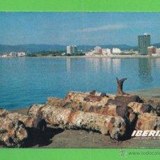 Postales: TARJETA POSTAL - LINEAS AÉREAS DE ESPAÑA IBERIA - ROSAS (COSTA BRAVA). 1968. - SIN CIRCULAR.. Lote 50238566