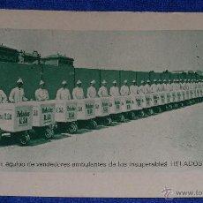Postales: HELADOS ILSA - HELADEROS. Lote 110193891