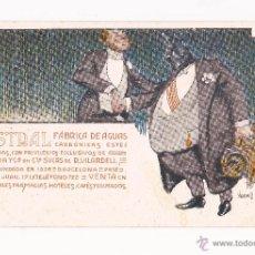 Postcards - LUSTRAL FABRICA DE AGUAS CARBONICAS / COLECCIÓN DE 10 / ILUSTRADAS SIN CIRCULAR Y DORSO SIN DIVIDIR - 50578900