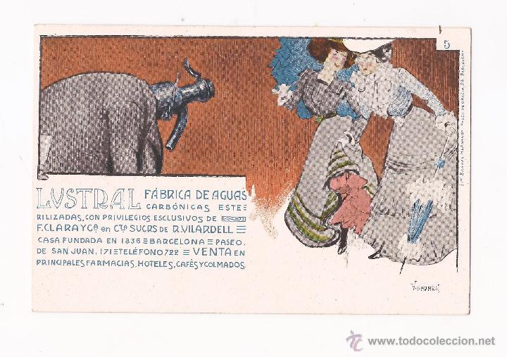 Postales: LUSTRAL FABRICA DE AGUAS CARBONICAS / COLECCIÓN DE 10 / ILUSTRADAS SIN CIRCULAR Y DORSO SIN DIVIDIR - Foto 5 - 50578900